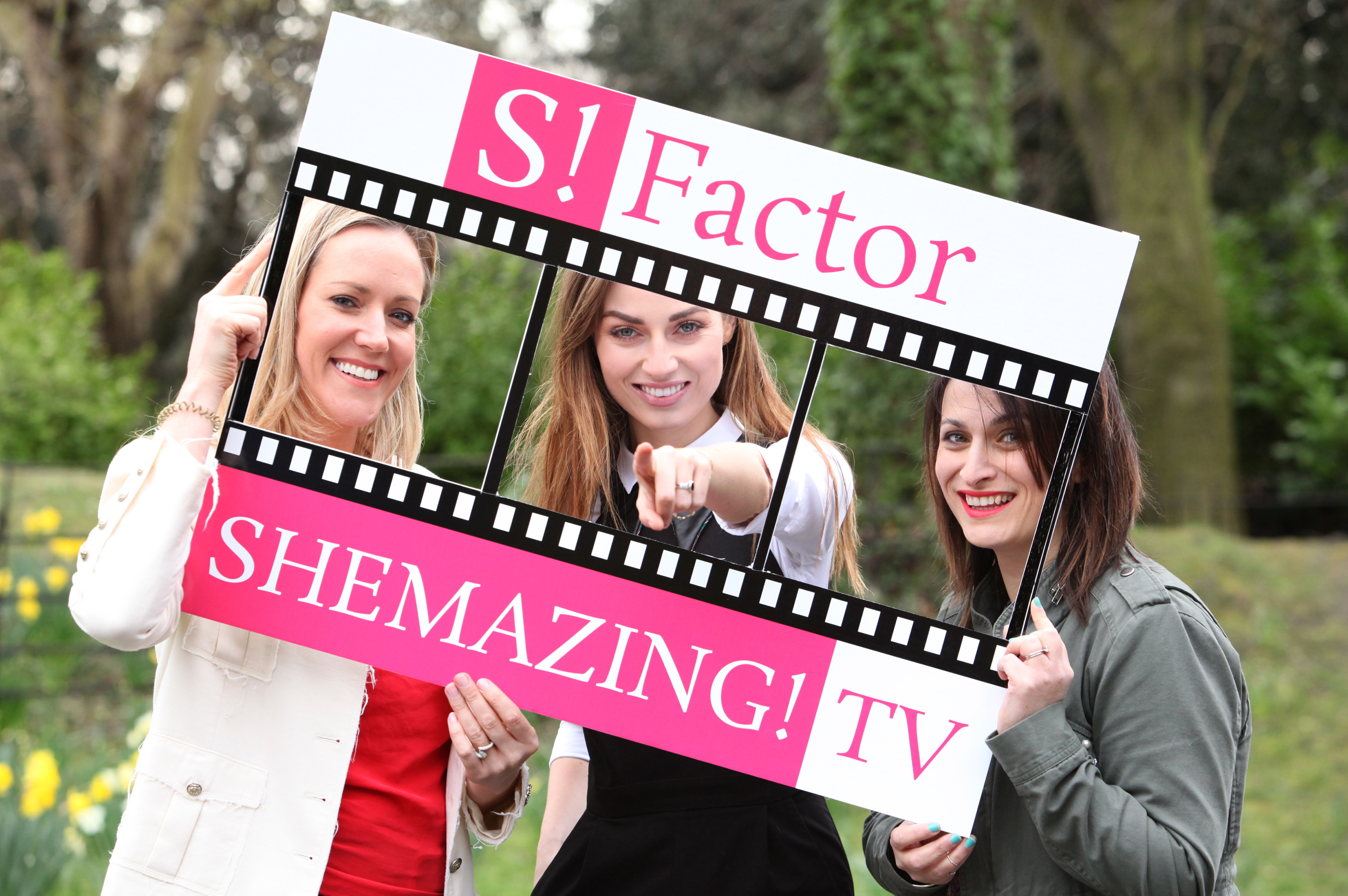 Launch of SHEmazing!TV S!Factor competition