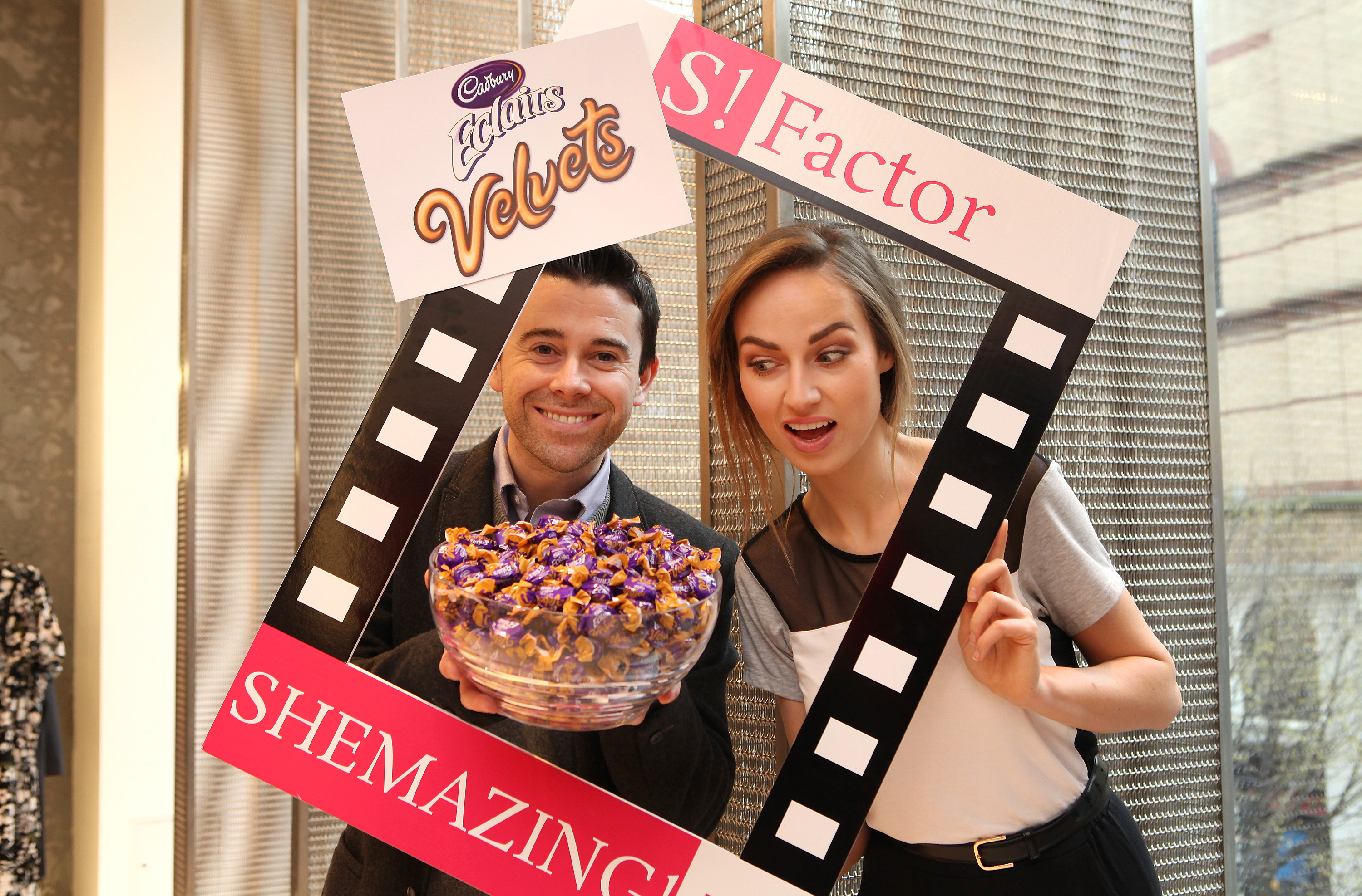 At the launch of SHEmazing!TV S!Factor competition