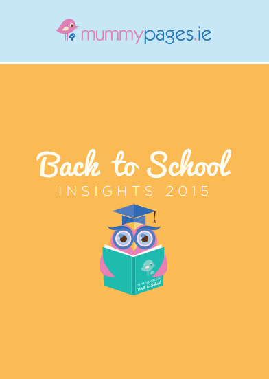 MummyPages 'Back-to-School' insights 2015