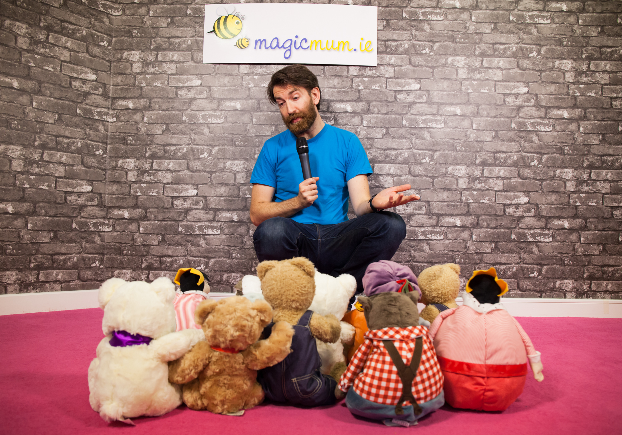 New dad and comedian, Colm O'Regan comes on-board with MagicMum