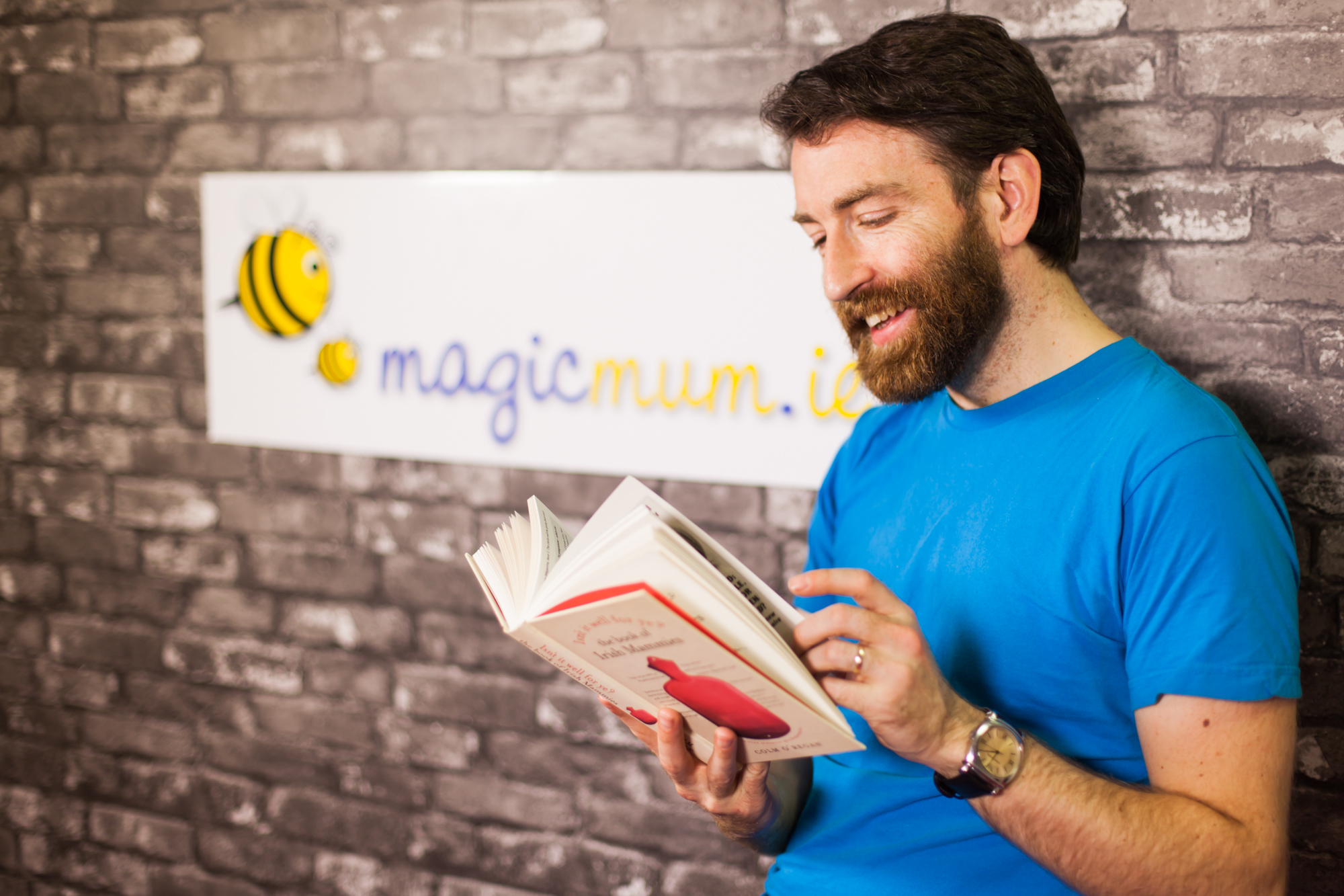 MagicMum is delighted to introduce its new Daddy blogger, Colm O'Regan.